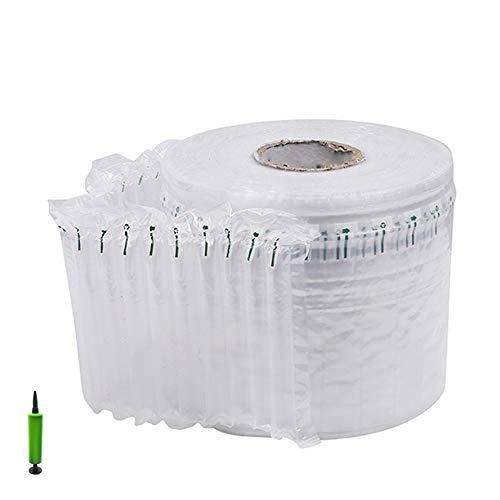 Qwer Airbag Verpackung Wrap Rolls Luftkissen Verpackungsmaterial für Gläser Flasche China Geschirr Protector Versand Umzug (100 Meter) (Size : 15.74in/40cm) - Für China Verpackungsmaterial