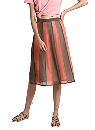 BESIVA Synthetic a-line Skirt