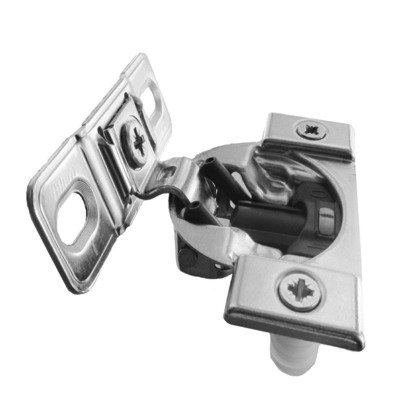 Pro, Compact Blumotion 38B (Round Cup) Hinge & Plate, For 1-3/8 Or Greater Overlay, Face Mount, Screw-On by handyct