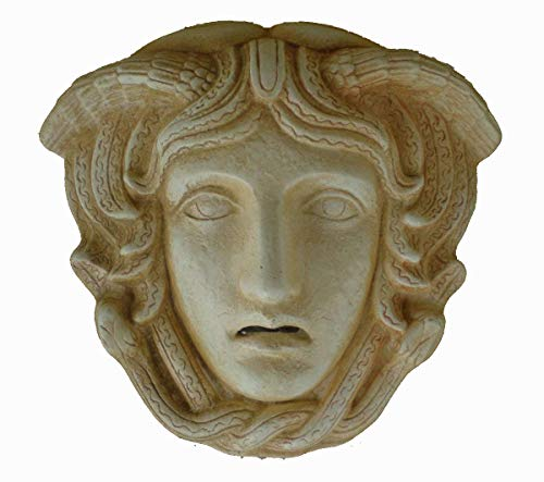 Medusa Miniatur-Maske-Antiken Griechenland-Gorgone Medousa