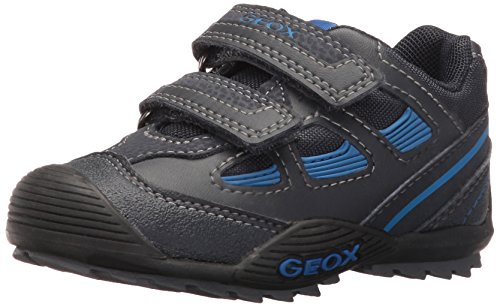 Geox JR SAVAGE B, Jungen Sneakers, Blau (C4226NAVY/ROYAL), 31 EU