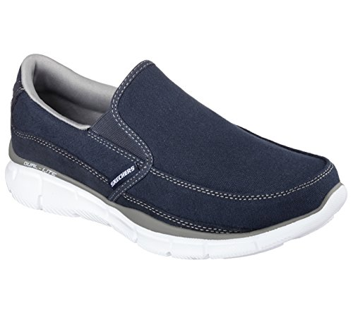 SKECHERS Equalizer-Popular Herren Sneaker dunkelblau Blau (NVGY)
