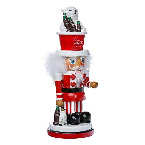 Kurt Adler Coca-Cola Hollywood Nussknacker mit Polar Bär hat, 15Zoll