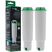 2x FilterLogic CFL-701B ersetzen Krups F088 Claris Aqua Filter / Melitta Pro Aqua Wasserfilter / Nivona NIRF-700 Filterpatrone für Kaffeevollautomat
