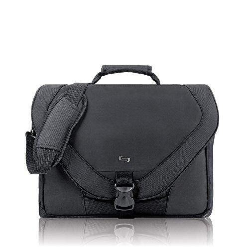 f7af1a2b95 Cases   Bags - Solo Active 17 Inch Laptop Messenger Bag  Black was ...