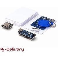 AZDelivery ⭐⭐⭐⭐⭐ TonUINO Set für Arduino (Mp3 Player, Nano V3.0, RFID Kit und 10 x 13,56 MHz RFID Karten)