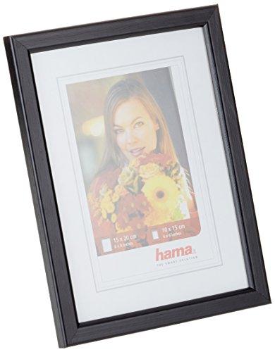Preisvergleich Produktbild Hama Wandrahmen Bella, Holz, 15 x 20 cm, schwarz
