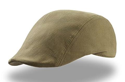 Swing Flatcap Schildmütze sportcap schieber (One Size - oliv) (Schildmützen Herren)