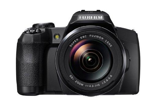Fujifilm FinePix S1 Kompaktkamera (Full HD, 16 Megapixel, 7,6 cm (3 Zoll) Display, 50-fach opt. Zoom, WiFi) schwarz