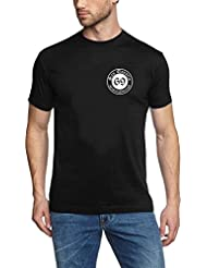 SAN QUENTIN - may you rot and burn in hell ! Schwarz - Logo rund gross T-Shirt - S - 5XL