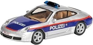 """Schuco 452529100 Edition 1:87 - Porsche 911 """"policía Austria - Reedición"""