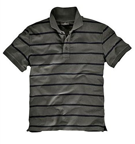 Grey connection Poloshirt T-Shirt oliv schwarz
