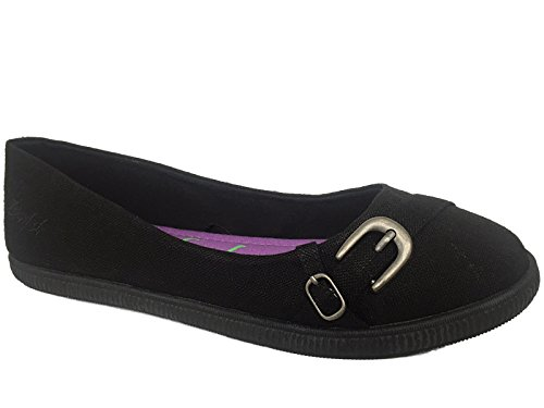 Blowfish - Ballerine da ragazza' donna , nero (Black), 40