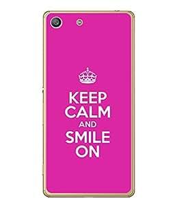 FUSON Designer Back Case Cover for Sony Xperia M5 Dual :: Sony Xperia M5 E5633 E5643 E5663 (Illustration Inspiration Change Motivate )