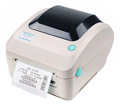 Drucker-Etikett Xprinter XP470B, thermal print, 203dpi, 127 mm/s, inklusive software BAR TENDER Ultra light, 8MB SDRAM, 4MB Flash, Interface USB 2.0 -