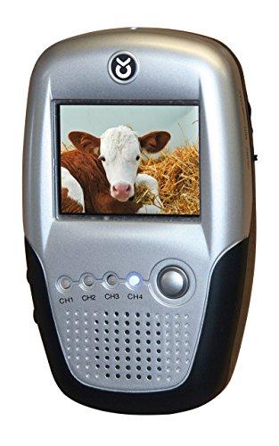 Kerbl 322031 LCD Monitor, 2.5 Zoll Pferd Anhänger-Überwachung
