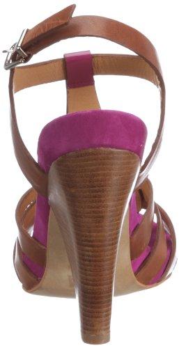Zinda Sandal 8419, Damen Sandalen/Fashion-Sandalen, Violett (NUEZ/PURPLE/FUCSIA), EU 41