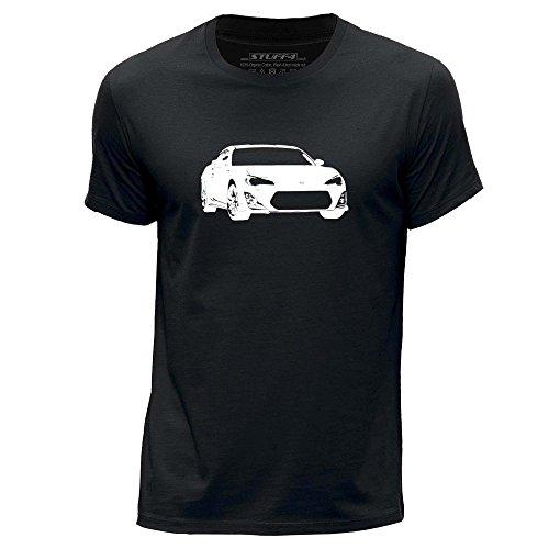 stuff4-herren-x-gross-xl-schwarz-rundhals-t-shirt-schablone-auto-kunst-gt86-brz