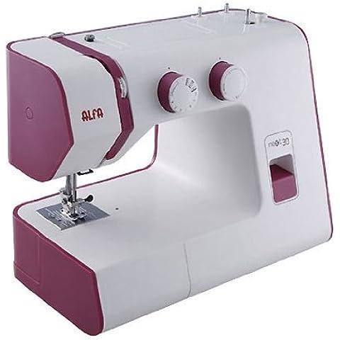 Alfa NEXT 30 - Máquina de coser, 18 puntadas, color violeta