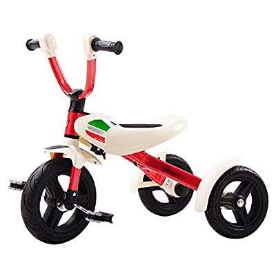 Jiamuxiangsi Bicycle Children's Tricycle Folding Bicycle 3-6 Years Free Inflatable Wheelbarrow Light Portable Belt Baby Balance Bicycle Toy Boy Girl First Bicycle Birthday Gift Child Bicycle Baby