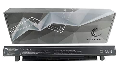 CYDZ 3500mAh 14.4V Laptop Akku A41-X550A für ASUS X550WE X552CL X552EA FX50JK F550C R510CA X450CA X450EA X550CA X550CC X550LA X550LB X550LD X550JD X550JK X550LN X550VC X550EP (3500mAh)