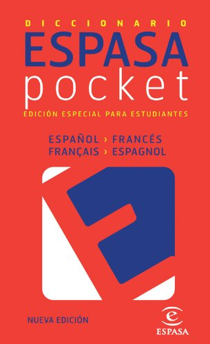 Diccionario pocket francés- español / español - francés (IDIOMAS) por Espasa Calpe