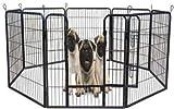 Welpenfreigehege YOUNG DOGS Größe L der Marke MYPETS Laufgitter Welpenauslauf Freigehege - 5