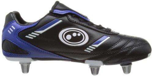 Optimum Tribal Jungen Rugbyschuhe schwarz - schwarz / blau