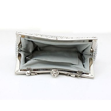 Damenmode diamond Abendessen Tasche Handtasche Black