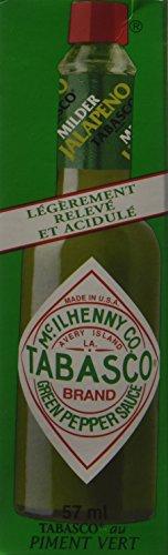 Maille Tabasco Vert Sauce Pimentée 57 ml - Lot de 4