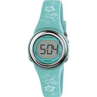 Kahuna KKD-0003F – Reloj de 0 para hombre, con correa de silicona, color turquesa