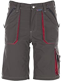 Planam Shorts Basalt, größe M, oliv / rot / mehrfarbig, 2843048