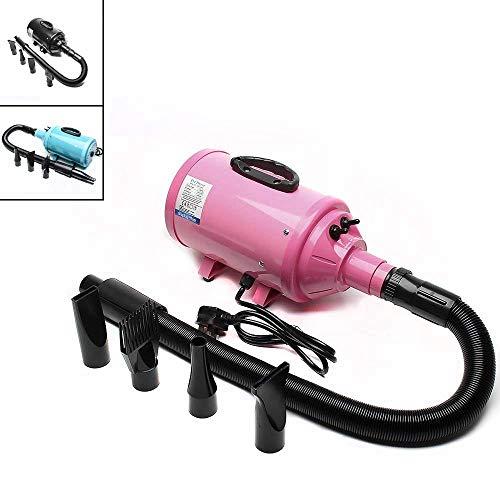 Dawoo 2800W macht levelless Haustier Hund Katze schnell Luftentfeuchter Haartrockner Trockner - (pink)