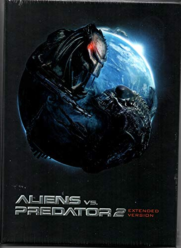 Aliens vs. Predator 2 - Limited Extended Mediabook Version Edition auf 333 Stk - Cover C - DVD - Blu-ray