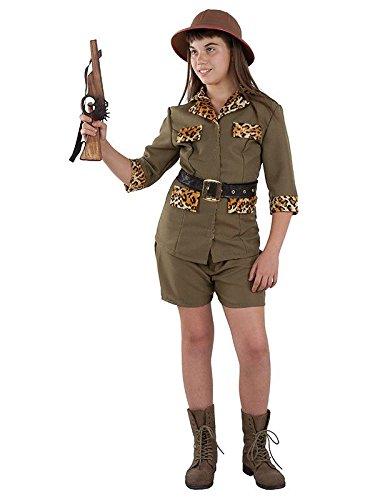 Imagen de disfraz exploradora safari niña  único, 5 a 7 años