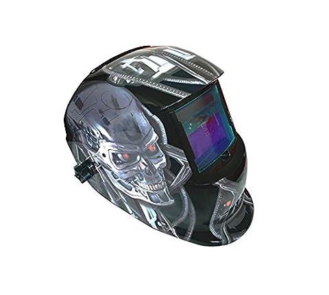 électrique casque de soudure Auto Assombrissement solaire soudeur Masque casque de soudure