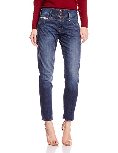 Herrlicher Damen Raya Boy Denim Boyfriend Jeans, Blau (Blue 695), W26/L32 (Size:26) Boys Blue Denim