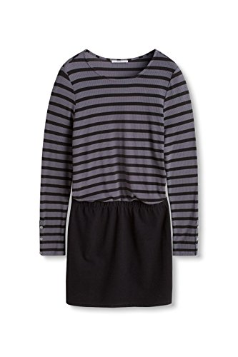 edc by Esprit 086cc1e033, Robe Femme Gris (Dark Grey 020)