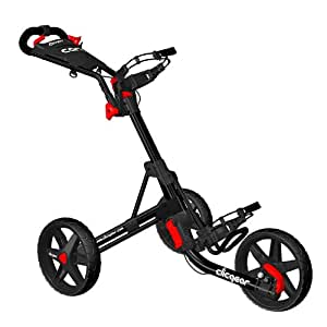 Clicgear tolley 3,5-noir - 3 roues-push-cart-chariot
