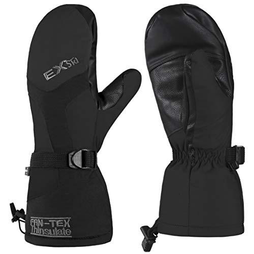 EXski Skihandschuhe Fäustlinge Winter Handschuhe Warm Snowboard Thermische Wasserdichte Herren Damen Winddicht
