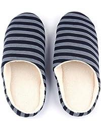 Funnyrunstore Inverno Caldo Morbido Peluche Pantofole da casa per Interno  Scarpe da Donna Uomo Stoffa e2e438e8e87