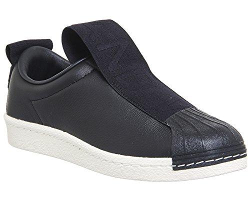Adidas Superstar Bw35 Slipon W, Scarpe da Ginnastica Basse Donna, Nero Core Black/off White, 38 EU