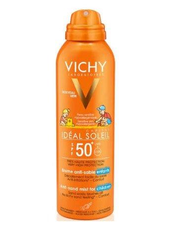 Vichy idéal soleil spray anti-sabbia per bambini spf 50+