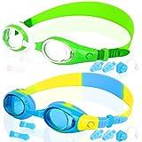Best El verde regalo para 15 años de edad chicos - Gafas de Natación para Niños, Paquete de 2 Review