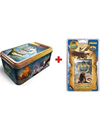 Tin Box 50 Cartas Fantasy Riders + BLISTERS 7 Sobres TARDING Cards
