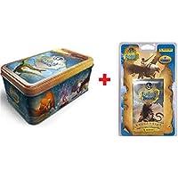 Tin Box 50 Cartas Fantasy Riders + BLISTERS 7 Sobres TARDING Cards