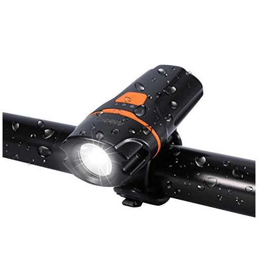 Movaty LED Bicicletta Luce,luci per Bicicletta,Luce Bici Anteriore
