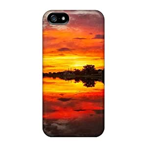 Awesome Cases Covers/iphone 5/5s Defender Cases Covers(fiery Reflections)