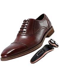 4dd786ec6bfc40 Geschnitzte Business-Schuhe Für Herren Derby Braun Schwarz Weiches Leder  Party Büro