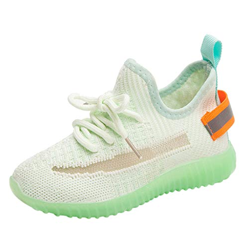 Muium New Children Shoes Luminous Sneakers Boots Toddler Kids Child Baby Girls Boys Mesh Casual Sport Shoes Sneakers